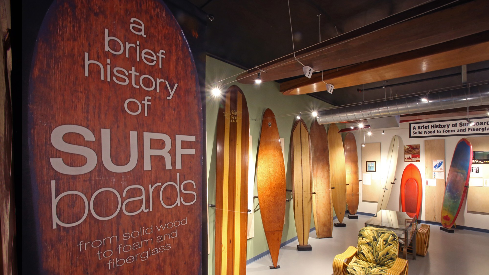 A Brief History of Surfboards: Wood, Foam to Fiberglass